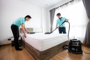บริการทำความสะอาดที่นอน