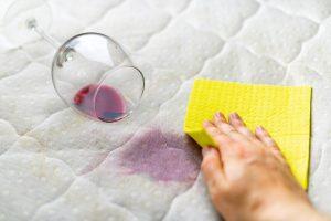 ทำความสะอาดที่นอนเฉพาะจุด