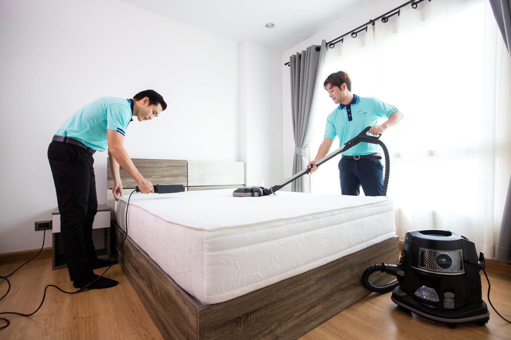 ผู้นำด้านการทำความสะอาดที่นอน