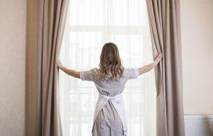 6.วิธีดูแลรักษาผ้าม่านหลังการซัก