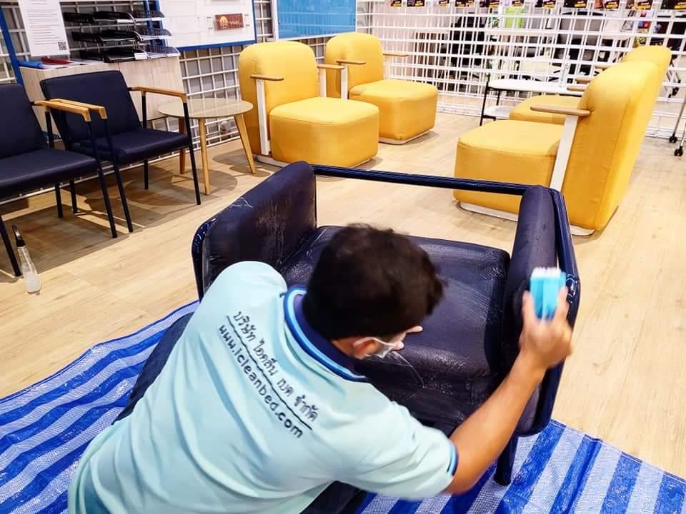บริการซักเก้าอี้สำนักงาน By Icleanbed