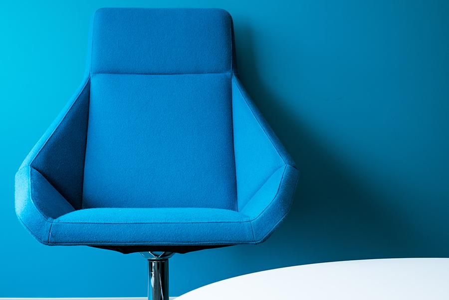 เก้าอี้สำนักงานเเบบผ้า