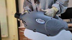 อุปกรณ์ฆ่าเชื้อ เครื่องพ่นละอองฝอย VECTOR FOG ULV C150+